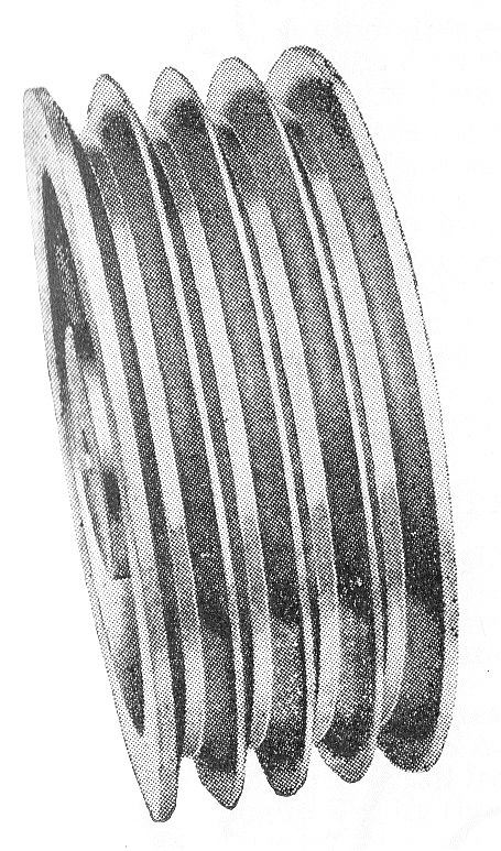 Rope Pulley Drive : Belt and rope drives brakes theory of machines