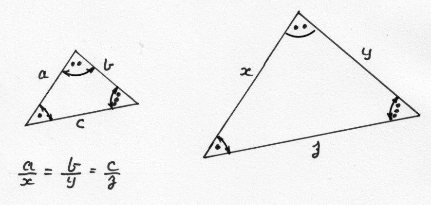 Corresponding Sides Triangles
